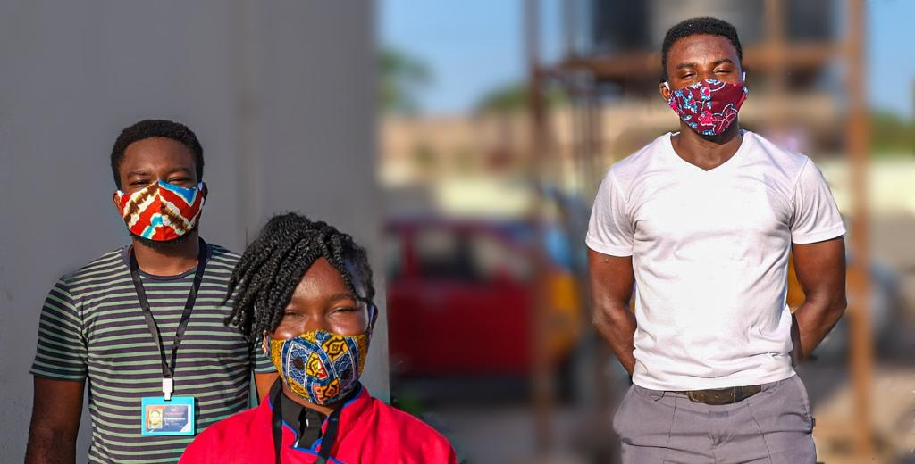 Accra-based pharmacy donates 1,000 fabric masks in fight against Covid-19
