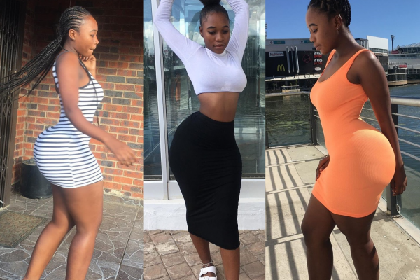 People are debating if this girl's backside is real or not – SEE PICTURES