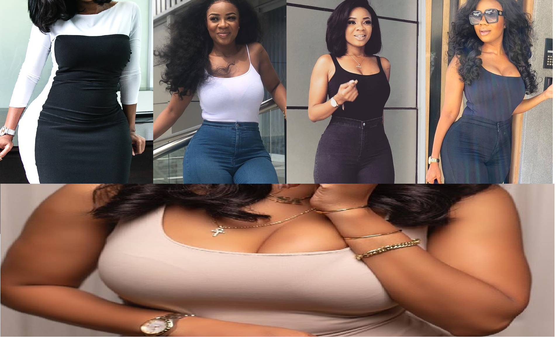 15 Photos of Serwaa Amihere that prove why fans love her