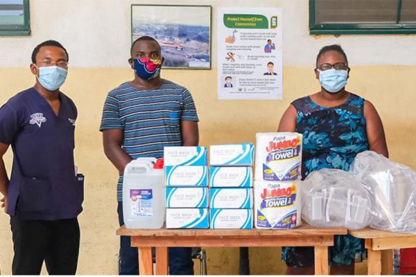 Community Pharmacy Supports Begoro Hospital
